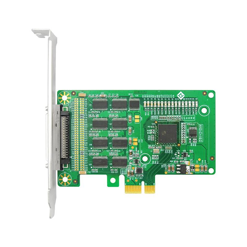 LRUA9258 PCIe x1 八口RS232串口卡