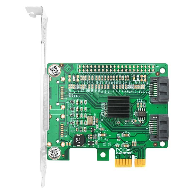 LRST9620-2I 6Gb PCIe x1 转 双口SATA3
