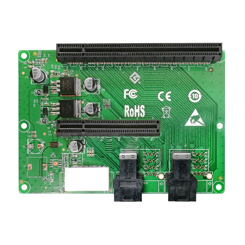 LRFC6922 PCIe x4 双口转接板