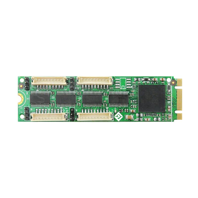 LRUA5254 M.2 四口RS232串口卡