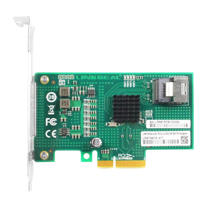LRST9615-4I 6Gb PCIe x4  转 四口SATA3