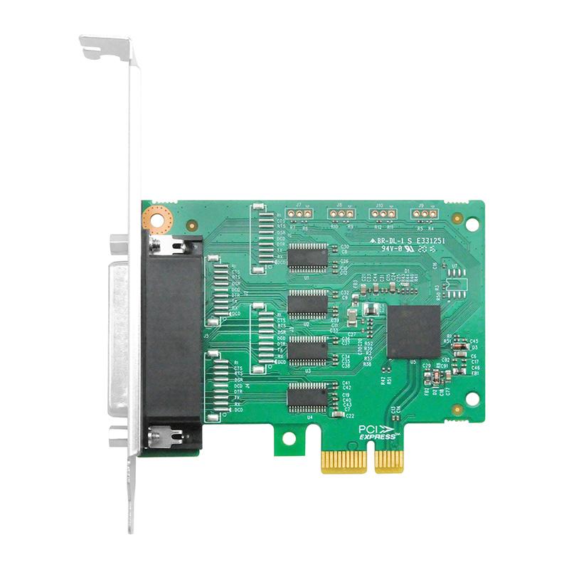 LRUA9254 PCIe x1 四口RS232串口卡