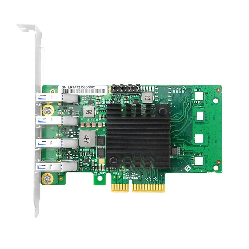 LRSU9A72-4A  PCIe x4 独立通道四口USB3.0卡