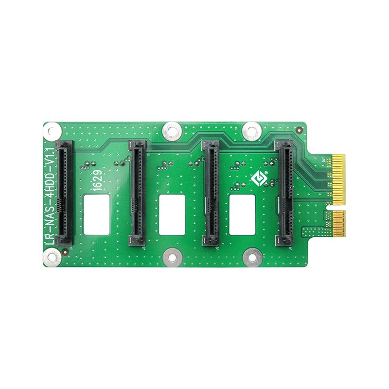LR-NAS-4HDD 背板