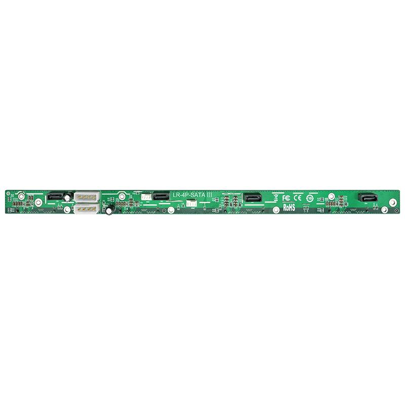 LR-4P-SATA 3 背板