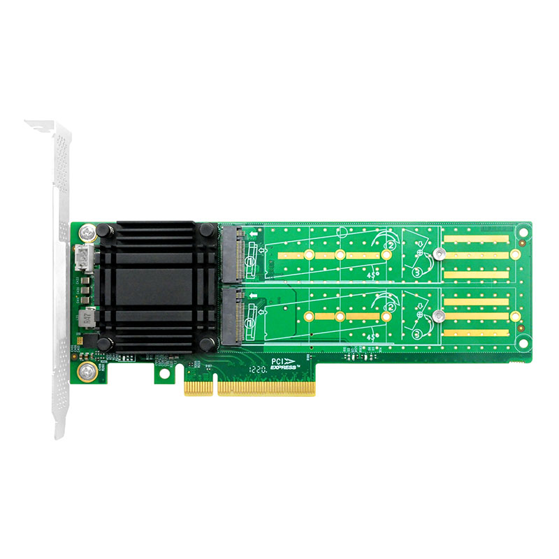 LRNV9524-2I PCIe x8 桥接 双口M.2
