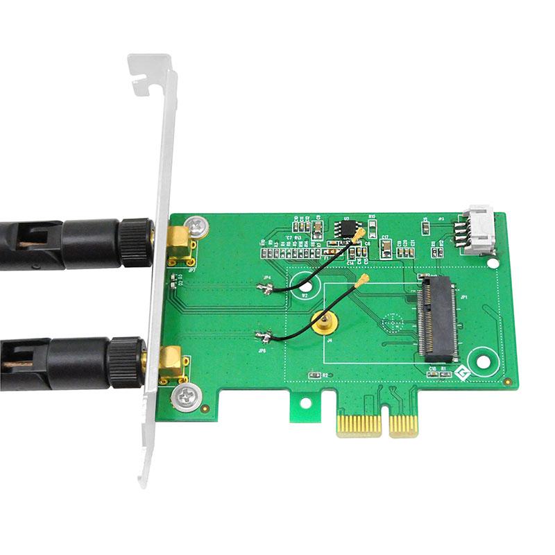 LRWI95N1 英特尔AX200 WIFI6 + 蓝牙5 双频接收发射器
