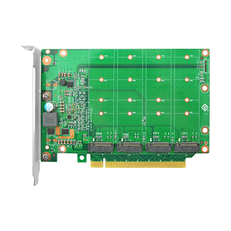 LRNV95NF PCIe x16 转 四口M.2 NVMe