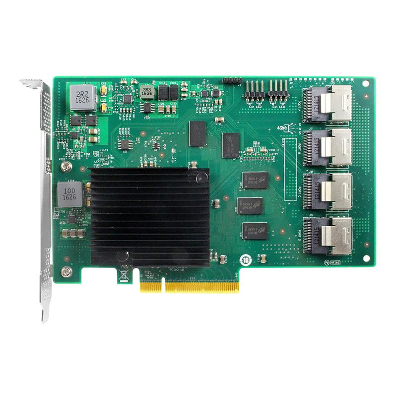 LRSA9616-16I 6Gb PCIe x8 转 十六口SAS/SATA
