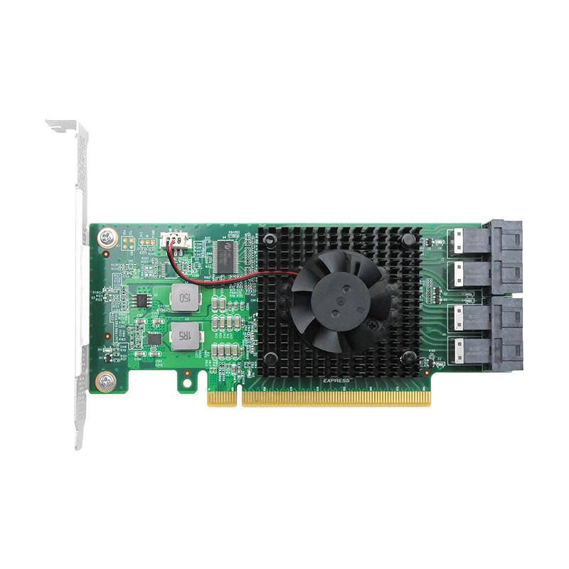 LRNV9347-4I PCIe x16 转 四口NVMe