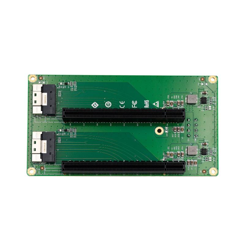 LRFCF922 PCIe x16 两口转接板
